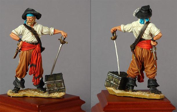 Фигурки: Пират, 1650-е годы