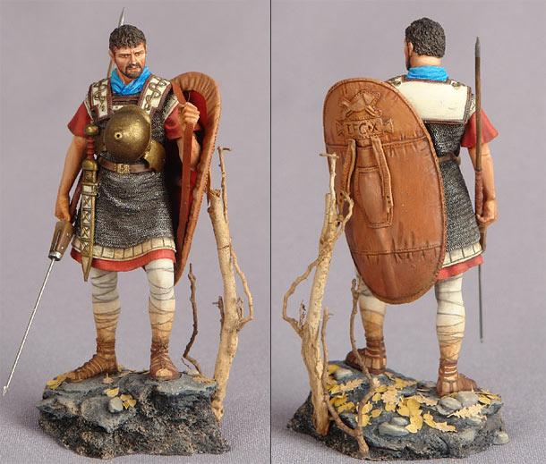 Фигурки: Римский легионер, 58-57г.до н.э.
