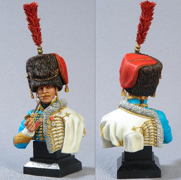 Фигурки: Офицер 5-го гусарского полка. Франция, 1810г.