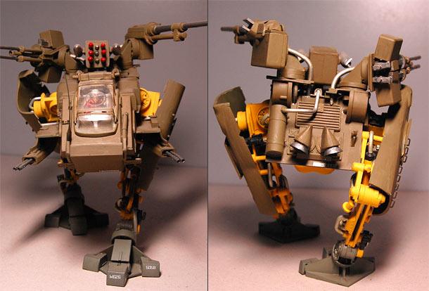 Разное: Шагающий боевой робот Christel