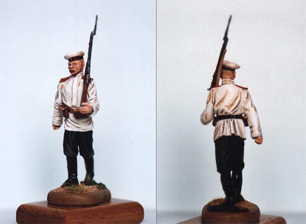 Фигурки: Рядовой Л.-Гв. Финляндского полка