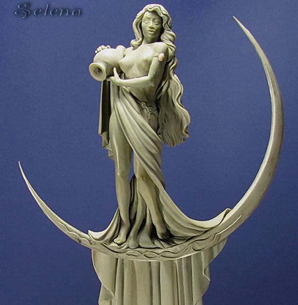 Скульптура: Селена
