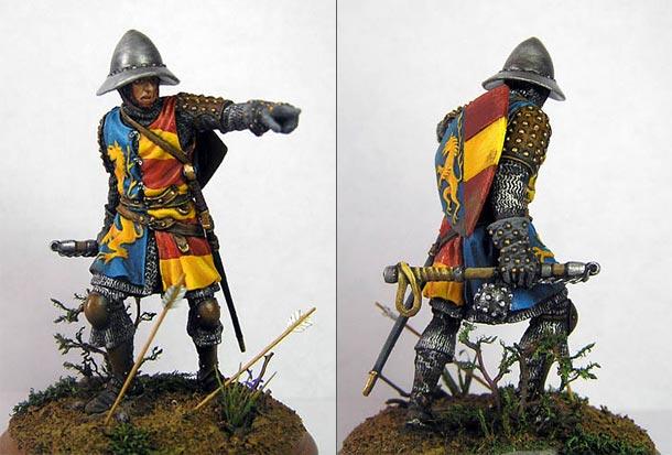 Фигурки: Тосканский рыцарь, XIII век