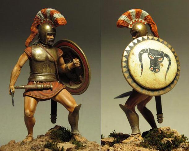 Фигурки: Гоплит, VI-V вв. до н.э.