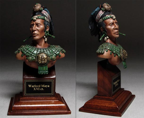 Фигурки: Вождь майя, XV-XVI вв.