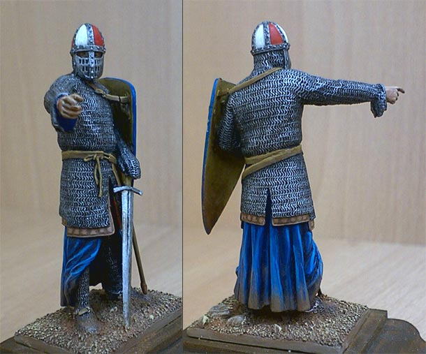 Фигурки: Норманнский рыцарь