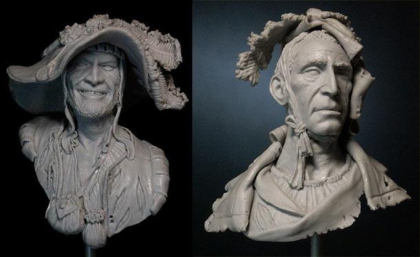 Скульптура: Ландскнехты