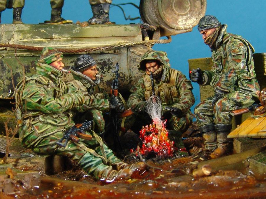 Диорамы и виньетки: На войне как на войне, фото #6