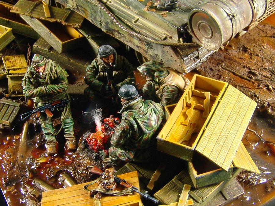 Диорамы и виньетки: На войне как на войне, фото #7