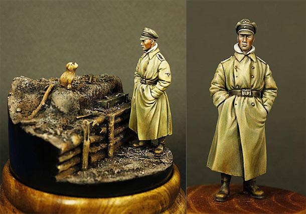 Фигурки: Германский пехотный офицер