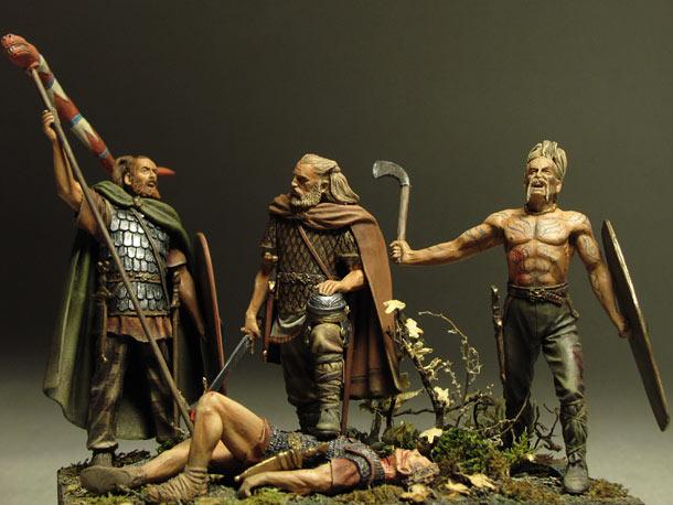 Диорамы и виньетки: Кто к нам с мечом...