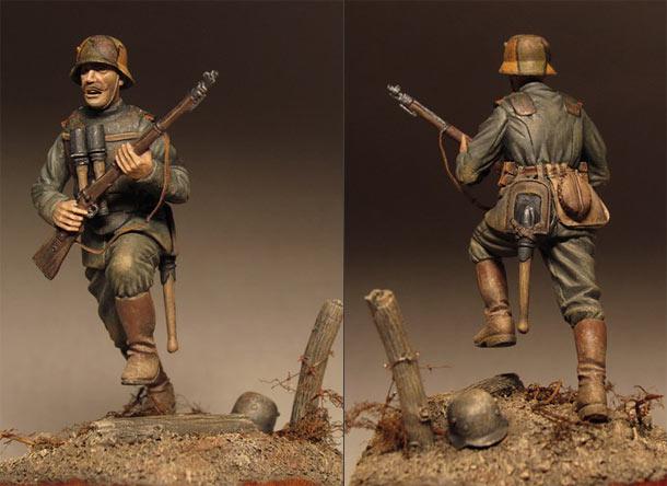 Фигурки: Немецкий штурмовик, 1918