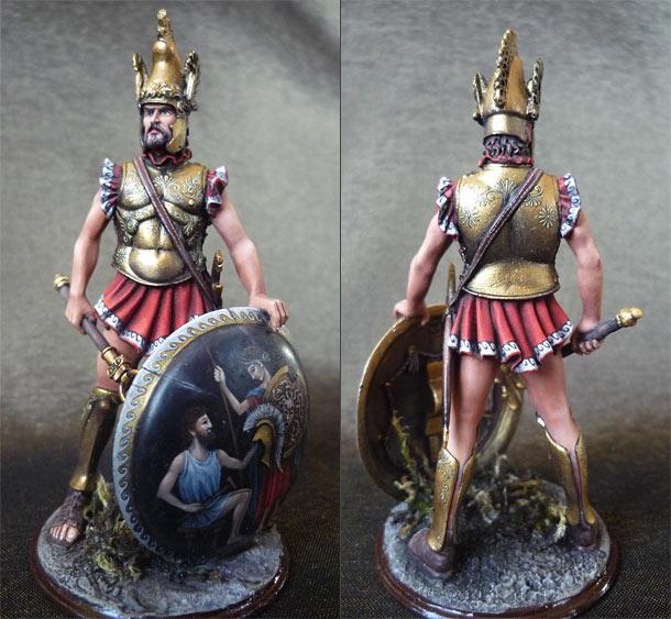 Фигурки: Апулийский командир, IX в. до н.э.
