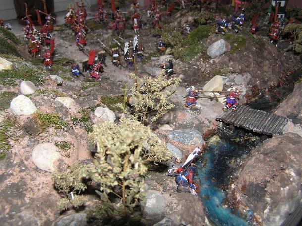 Диорамы и виньетки: Битва при Сэкигахара 21 октября 1600 г.