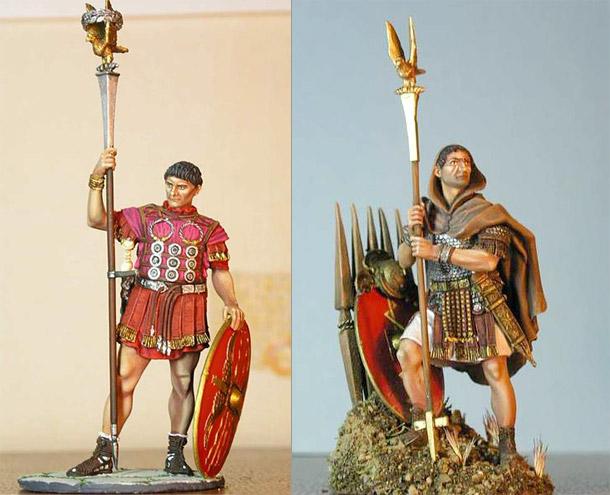 Фигурки: Римские аквилиферы