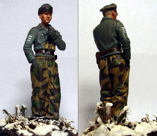 Фигурки: Офицер-танкист дивизии