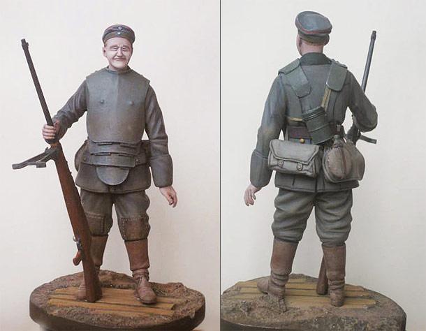 Фигурки: Охотник за танками, 1918 г.