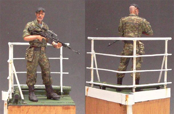 Скульптура: Сержант морской пехоты, КЧФ