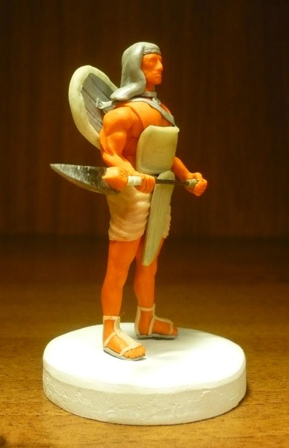 Скульптура: Египетский пехотинец, фото #5