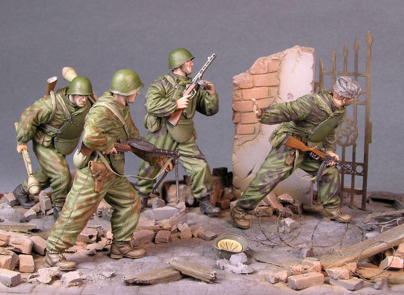 Как сделать солдатиков для диорамы