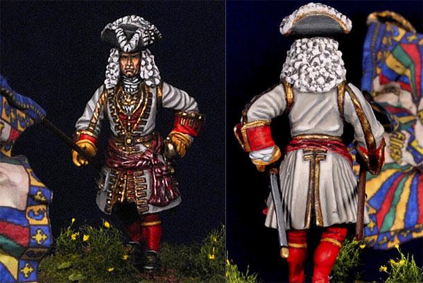 Фигурки: Французский офицер, 1701