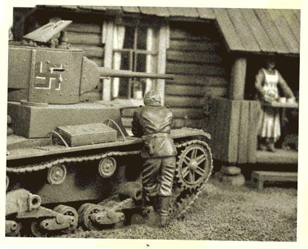 Диорамы и виньетки: Карелия, 1941, фото #12