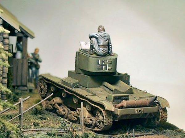Диорамы и виньетки: Карелия, 1941, фото #7
