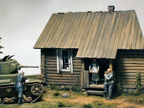 Диорамы и виньетки: Карелия, 1941