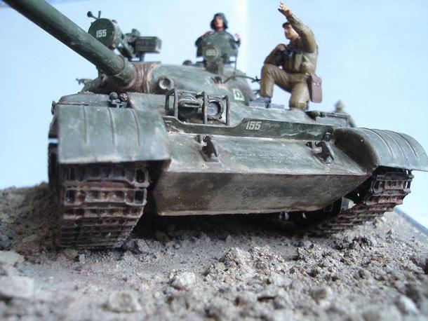 Учебка: T-62A в Афганистане