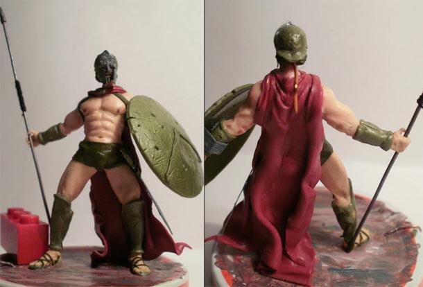 Скульптура: Спартанец