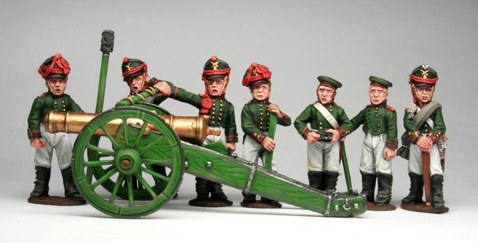 Фигурки: Русская  артиллерия, 1812 г., фото #3