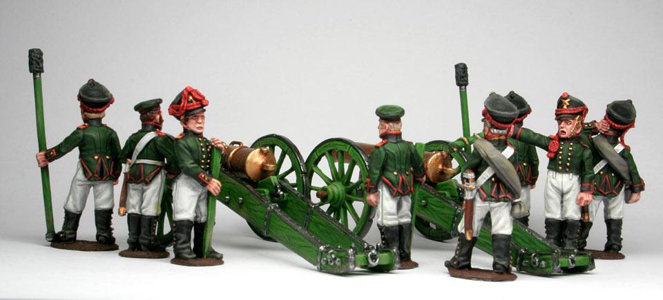 Фигурки: Русская  артиллерия, 1812 г., фото #4