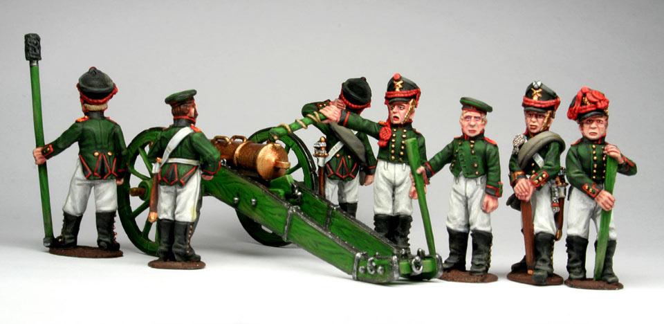 Фигурки: Русская  артиллерия, 1812 г., фото #5
