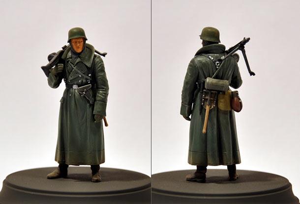 Фигурки: Немецкий пулеметчик