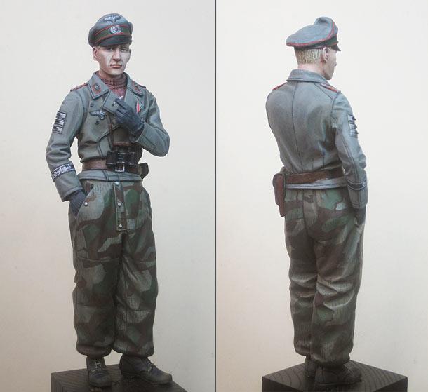 Фигурки: Командир взвода штурмовых орудий