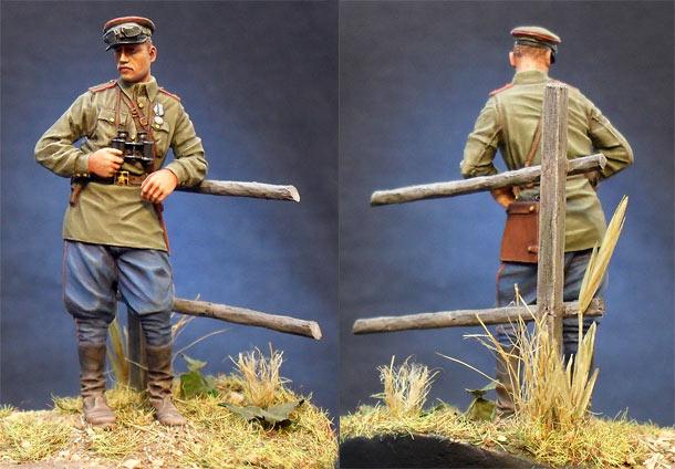 Фигурки: Младший лейтенант автобронетанковых войск СССР, 1943