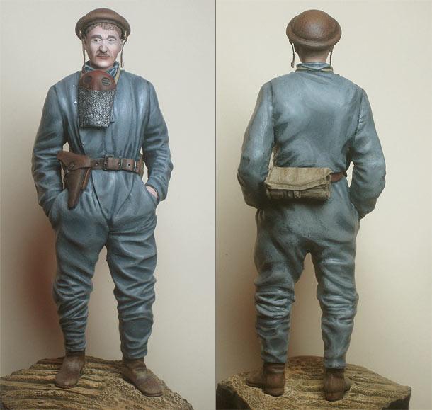 Фигурки: Германский танкист, 1918 год.