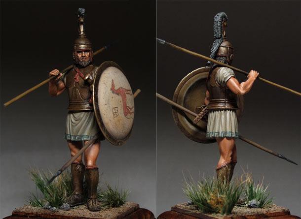 Фигурки: Греческий гоплит, 750-650 гг. до н.э.