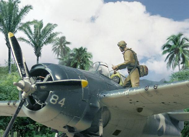 Диорамы и виньетки: Гуадалканал, 13 октября 1942 года.