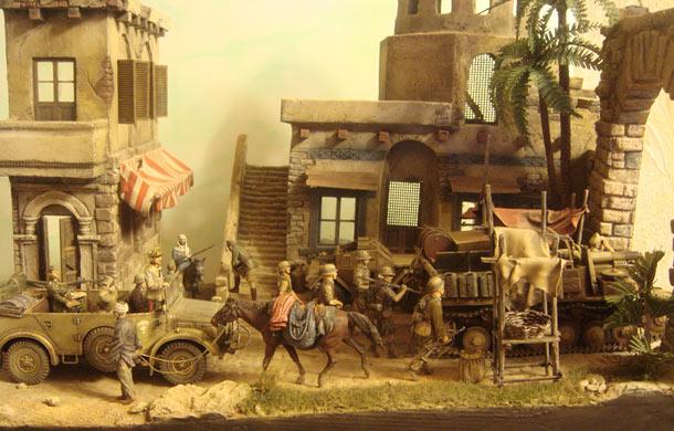 Диорамы и виньетки: Отступление Африканского корпуса. Декабрь 1942г.
