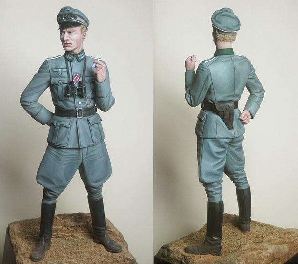 Фигурки: Пехотный офицер вермахта