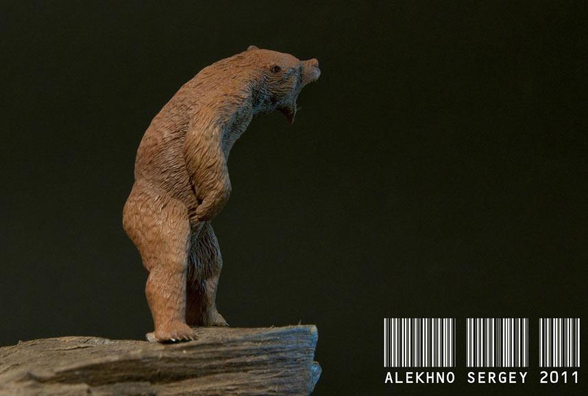 Скульптура: Медведь, хозяин тайги, фото #2