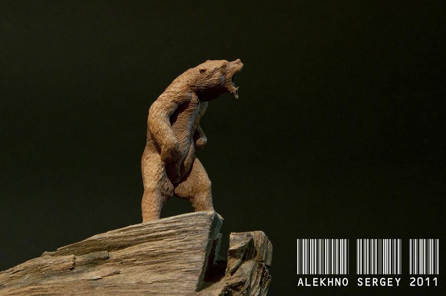 Скульптура: Медведь, хозяин тайги, фото #5