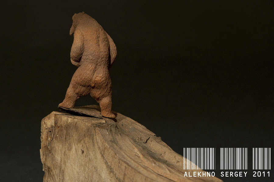 Скульптура: Медведь, хозяин тайги, фото #6