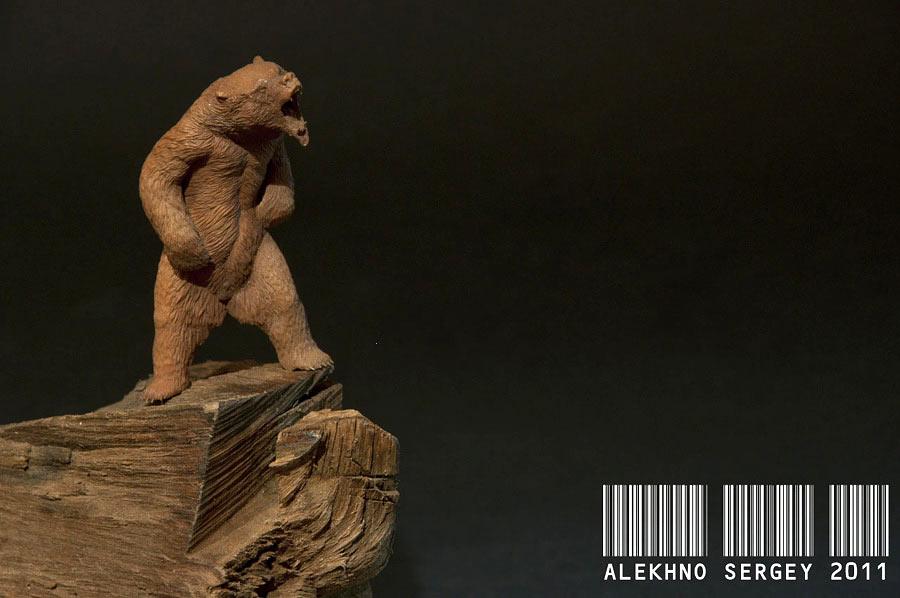 Скульптура: Медведь, хозяин тайги, фото #7