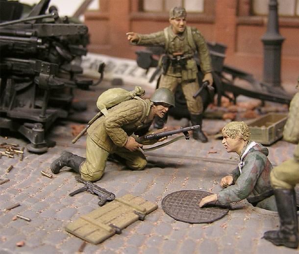 Диорамы и виньетки: Ганс, вылазь! Гитлер капут!..