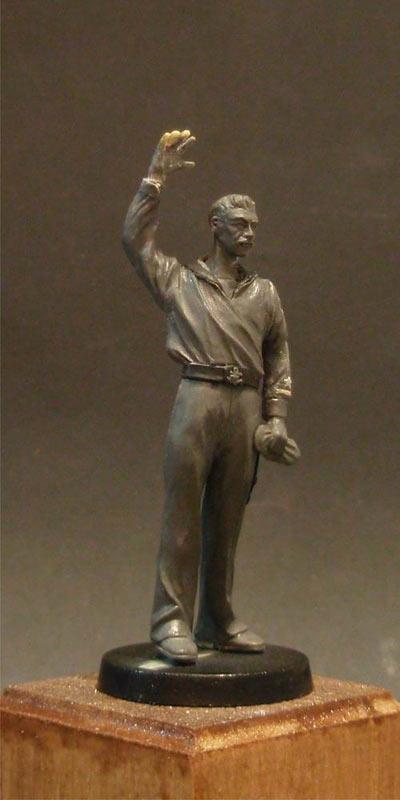 Скульптура: Шагнувший в бессмертье..., фото #1