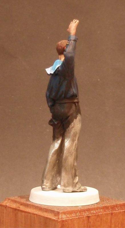 Скульптура: Шагнувший в бессмертье..., фото #12