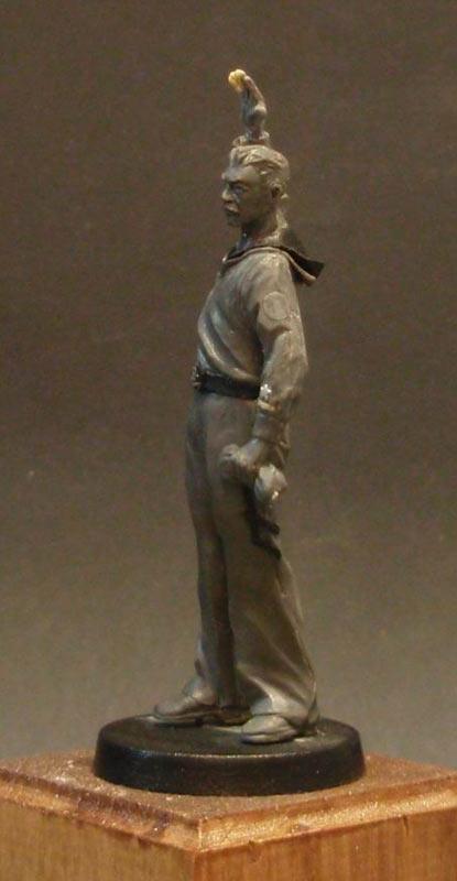 Скульптура: Шагнувший в бессмертье..., фото #7