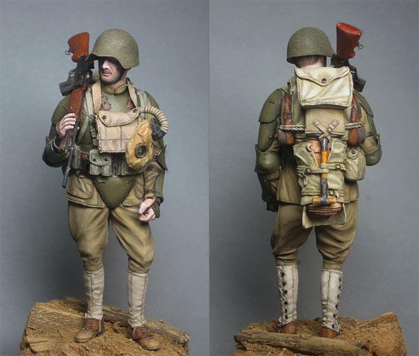 Фигурки: Американский пехотинец, 1918 год